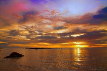 Stunning Sunset at Ujung Genteng, Sukabumi (2012)