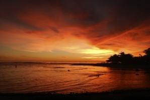 Red Sunset, Ujung Genteng, Sukabumi (2013)
