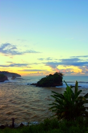 Sunset at Amanda Ratu Resort