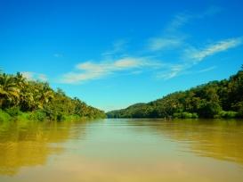 The River near Cikaso Waterfall